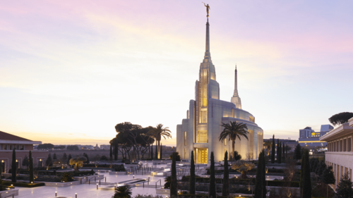 Rome Italy Temple Catches International and Local Media Attention